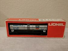 LIONEL CHEVRON STANDARD OIL SINGLE DOME TANK CAR. W/BOX 6-9153