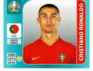 PANINI EURO 2020 INTERNATIONAL EDITION FIGURINA 652 CRISTIANO RONALDO (PORTUGAL)