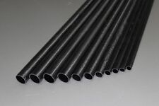 """NEW Carbon tailboom / carbon tail tube tapered 13mm-9mm->750mm, length 29.52"""""""