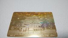 KYOTO JAPAN 「KINKAKUJI」famous temple  Japan prepaid telephone card