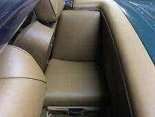 Mercedes Benz W 113 230 250 280 SL Pagode Cabriolet 3. Siège strapontin Cuir Noir