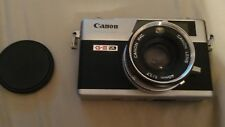 Canon Canonet QL17 35mm FIlm Camera with Canon 40mm 1.7 Lens Vintage Classic Old