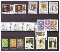S15542) Vatican MNH 1978 Complete Year Set 18v