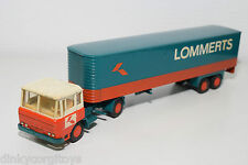 LION CAR DAF 2600 TRUCK WITH TRAILER LOMMERTS NEAR MINT RARE SELTEN RARO