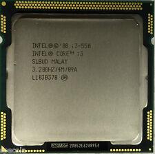 Intel Core i3-550 procesador 4M cache, 3.20 GHz 2 núcleos Garantía probado Venta