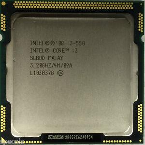 Intel Core i3-550 Processor  4M Cache, 3.20 GHz 2 CORES WARRANTY TESTED SALE