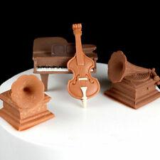 Molde de música Hecho A Mano Artesanía Plastilina de Silicona de chocolate reposterìa herramientas