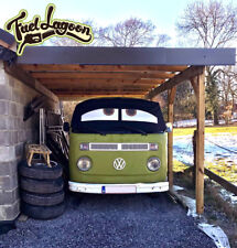 VW T2 Bay Van Window Camper Screen Wrap Cover Transporter Frost Black Blind Eyes
