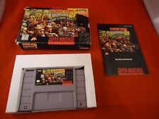 Donkey Kong Country 2: Diddy's Kong Quest Super Nintendo SNES COMPLETE w Box #T1