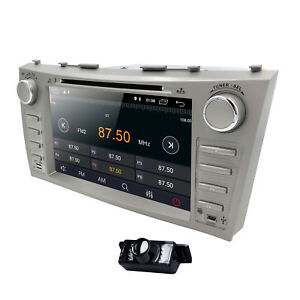 For Toyota Camry Aurion 06-2011 Car Stereo RDS Radio GPS CD DVD Android 10.0 CAM