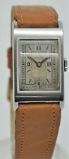 Vintage Omega from 1901 gents stainless steel manual wind dress watch