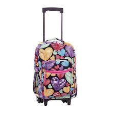 Backpack With Wheels For Girls Rolling School Travel Bag Kids Wheeled Back Pack