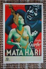 Mata Hari Lobby Card Movie Poster Greta Garbo
