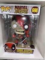 "Funko Pop Marvel Zombies Zombie Deadpool 10"" Inch 698"