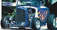 1932 FORD ROADSTER Hot Rod SPEC SHEET/ Brochure