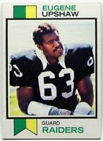 1973 Topps Gene Upshaw Card #50 Oakland Raiders Texas A & M