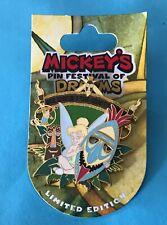 Disney Tinker Bell Tiki Mask Tiki Birds Tikis Adventureland Le Pin New on Card