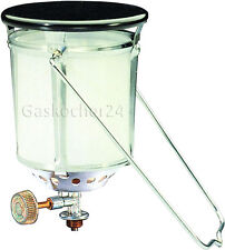 Starklicht-Gaslampe FAVORITA 500HK für GAZ-Gasflaschen R901 R904 R907 Gaslaterne