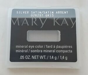 MARY KAY **MINERAL EYE SHADOW COLOR** DISCONTINUED SILVER SATIN NEW IN BOX