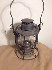 Vintage Dietz Vesta R.R. Lantern N.Y.C.S. Matching Original Glass Complete