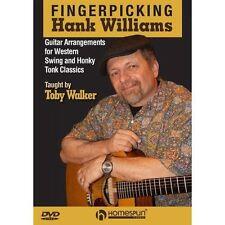 Punteo con los dedos Hank Williams Guitarra matrícula Dvd Western Swing & nasal Tonk