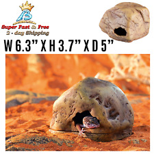 Secure Hiding Frog Eyed Gecko Cave New For Reptiles Amphibians Nesting Hide Out