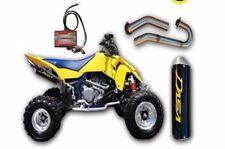 DASA Classic Full Exhaust System Pipe & Powercommander PC5 Suzuki LTR450 Yellow