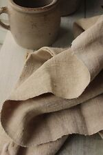 Upholstery antique linen 26 WIDE  Natural organic fabric linen hemp material