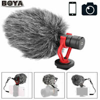 Universal BOYA BY-MM1 Video Mic Microphone Condensor For Nikon Canon DSLR Camera