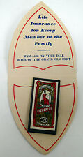 Vintage Advertising Needle Case National Life & Accident Insurance Company Md