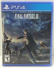 Final Fantasy XV Day One Edition (Sony PlayStation 4, 2016) PS4 Video Game