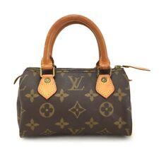 100% Authentic Louis Vuitton Monogram Mini Speedy Hand bag /p747