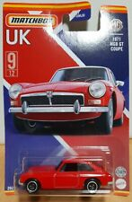 Matchbox Superfast 2021 Best UK MB1213 GWL24 No.9 1971 MG MGB GT Coupe Red