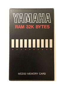 Yamaha MCD32 RAM Karte Speicherkarte SY99/77/55/22 TG33