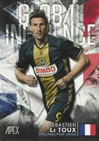 2016 Topps Apex Soccer - Hand Collated Complete Set Global Influence 29 Cards