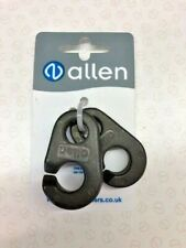 Two 50mm alloy Ingefield clips AL 0174