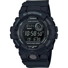 Casio Men's Watch G-Shock G-Squad Quartz Ana-Digi Dial Black Strap GBD800-1B