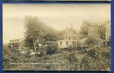 Newagen Inn Maine me real photo postcard Rppc