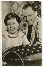 "LILLI PALMER & IVAN DESNY - orig. Autogramm - ""Anastasia"""