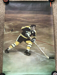 NEVER DISPLAYED 1971 Phil Esposito Sports Illustrated Poster Boston Bruins 1H2