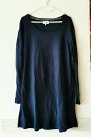 NOA NOA  Kleid Strickkleid 10% Kaschmir Gr.L blau    #LRS1303
