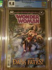 Wonder Woman Annual #4 CGC 9.8 1st App Yara Flor Future State New Wonder Woman