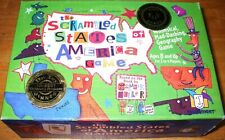 Scrambled States of America Game Geography 100% COMPLETE! MINT COND! FAMILY FUN!