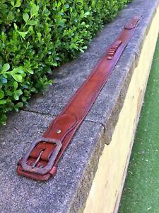 Cartridge Belt, Western Pattern Cowboy belt, Ranger Belt