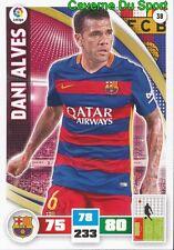 038 DANI ALVES BRAZIL FC.BARCELONA CARD ADRENALYN LIGA 2016 PANINI