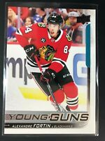 2018-19 Alexandre Fortin UD Young Guns Rookie
