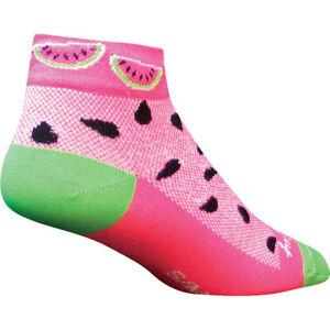 Sock Guy Watermelon Socks : Pink; SM/MD