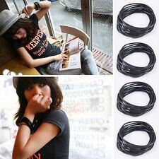 10X Gummies Shag Bands Bracelets Wristbands Jelly Rubber Bangles HOT SALE
