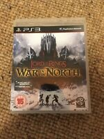 The Lord Of The Rings : War In The North (PS3, 2011) *1-2 Players *