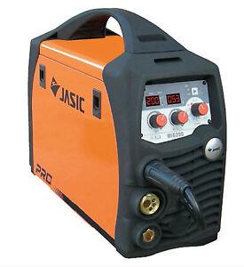 Jasic Pro Mig 200 Sinérgico Multi Proceso / Mma / Elevador Tig Inversor Soldador